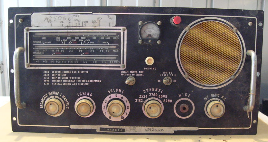 Image result for old marine radio